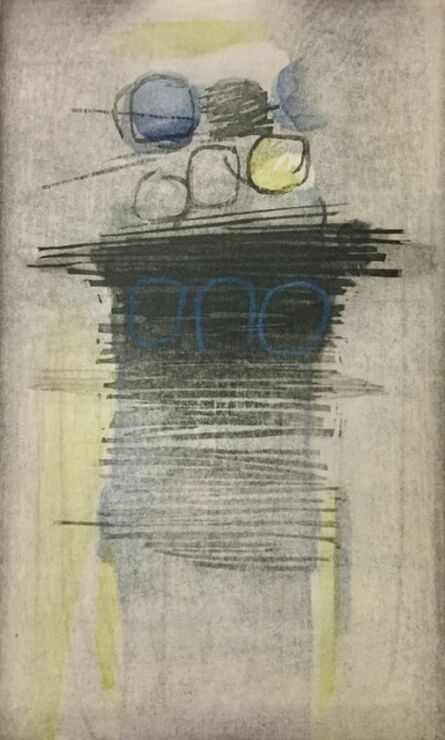 Ansei Uchima, 'Silvery Flow', 1966