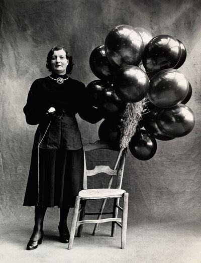 Irving Penn, 'Marchande de Ballons, Paris', 1950