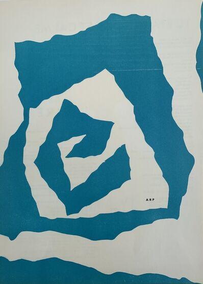 Hans Arp, 'Hans Arp, Abstract Blue, 1950', 1950