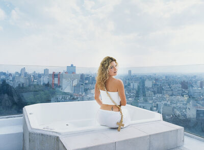 Daniela Rossell, 'Untitled (Ricas y famosas) (rooftop)', 1999