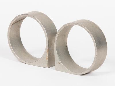 Carl Auböck, 'Circular Stainless Steel Bookends ', ca. 1970