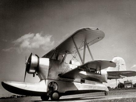 Margaret Bourke-White, 'Grumman Aircraft U.S. Navy Amphibious J2F-1', 1937