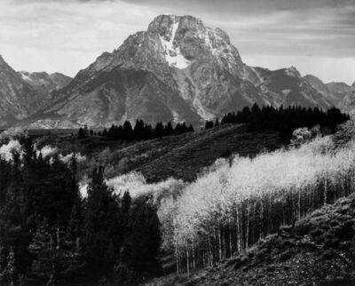 Ansel Adams, 'Mount Moran, Autumn', 1948