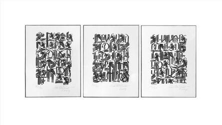 RETNA, 'Untitled (Triptych)', 2007