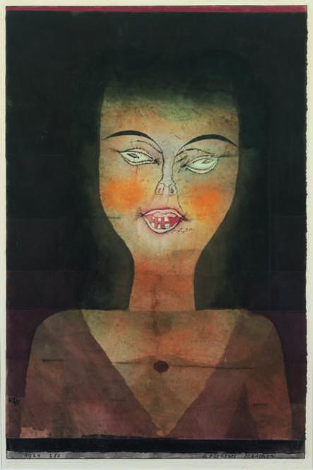 Paul Klee, 'Besessenes Mädchen (Girl Possessed)', 1924