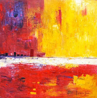 Francoise Laine, 'Yellow light on the city', 2019