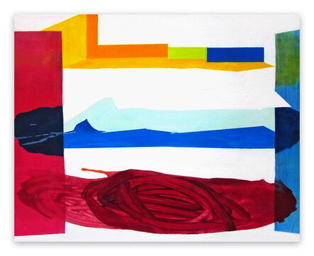 Laura Newman, 'Span (Abstract Expressionism painting)', 2011