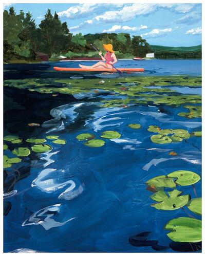 Sebastian Blanck, 'Paddle Boarding', 2019