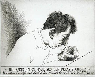 Keith Shaw Williams, 'Belisario Ramon Francisco Contreras y Chavez (Mexican 1917-1940)', 1945