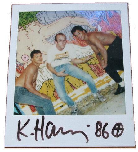"Keith Haring, '""Polaroid 86""', 1986"