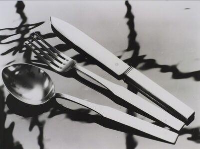 Adolf Lazi, 'Silver cutlery', 1932