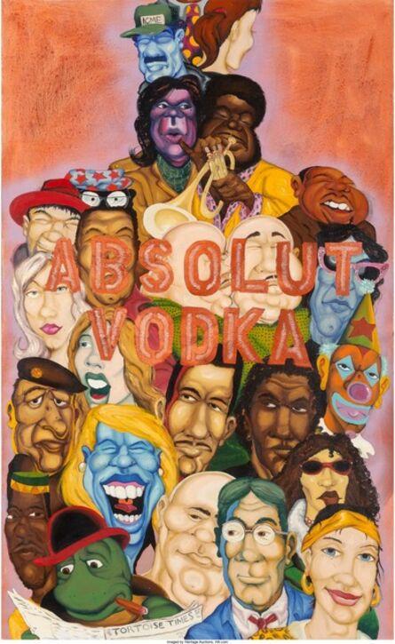 Chris DAZE Ellis, 'Absolut Vodka', 1992
