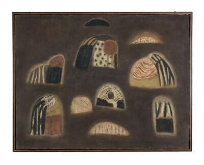 Zoran Antonio Mušič, 'Les Paysannes de jeudi', 1953