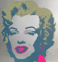 Andy Warhol, 'Diamond Dust Marilyn', 1967 printed later