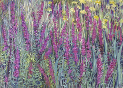 Regina Silvers, 'Field with Loosestrife', 2007