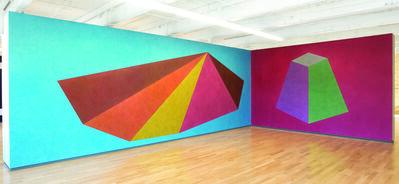 Sol LeWitt, 'Wall Drawings #439 and #527', 1985