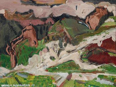 David Alexander, 'Cathedral Alpine', 2017