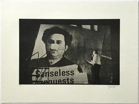 William Kentridge, 'Senseless (from Nose Portfolio)', 2010