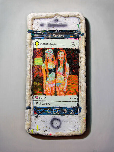 Alejandro Carpintero, 'Foam Phone', 2016