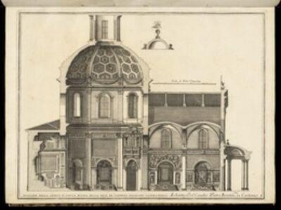 Pietro Berrettini, called Pietro da Cortona, 'Spaccato della Chiesa di Santa Maria della Pace de Canonici Regolari Lateranensi', 1702-1721