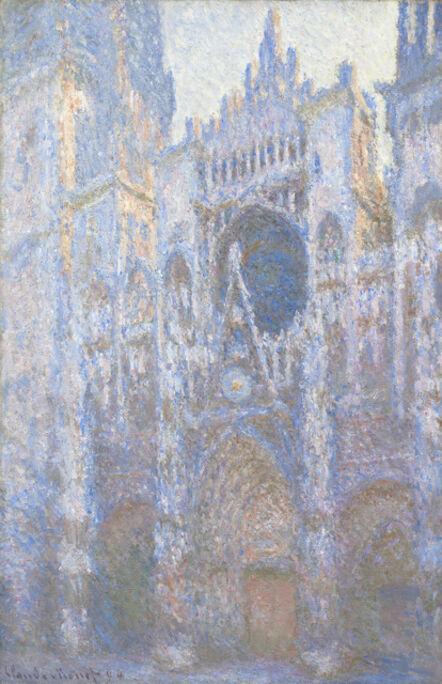 Claude Monet, 'Rouen Cathedral, West Façade', 1894