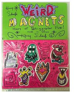 """Kenny Scharf, '""""Kenny Scharf Weird Magnets"""", 1990's, 6-Pack, Scharf Shack, Original Sealed Packaging.', 1990's"""