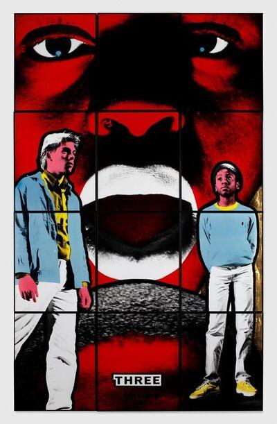 Gilbert and George, 'Three', 1984