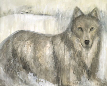Jane Rosen, 'GREY WOLF', 2012