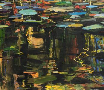 David Alexander, 'Green Blue Palettes', 2007