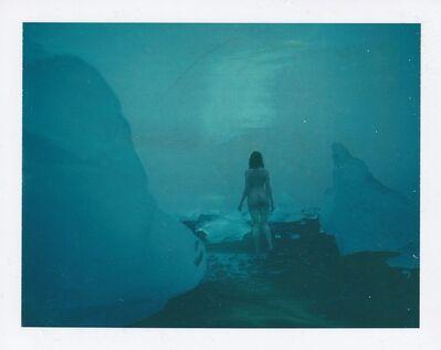 Sven van Driessche, 'Blue Iceland -Contemporary, Nude, Women, Polaroid, 21st Century', 2017