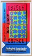 Andy Warhol, 'Lincoln Center Ticket - opaque acrylic signed edition (Feldman & Schellmann, II.19)', 1967