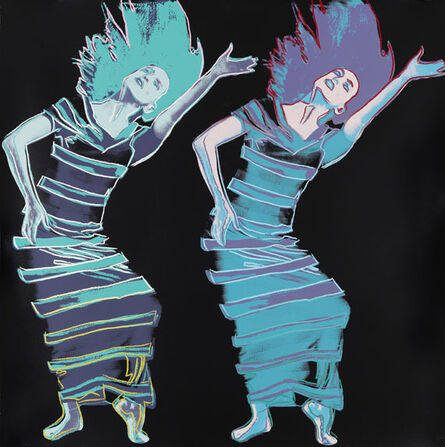 Andy Warhol, 'Satyric Festival Song (from Martha Graham Portfolio)', 1986