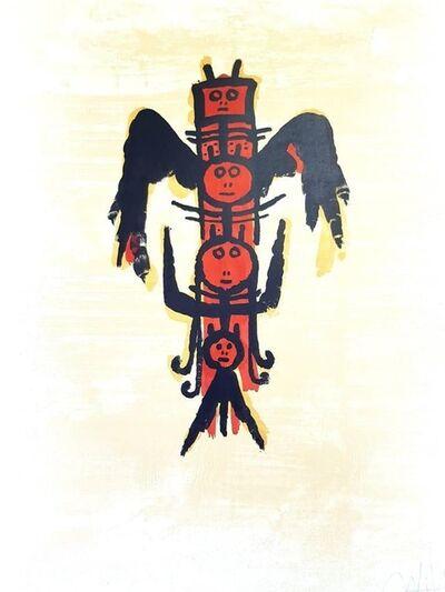 """Wifredo Lam, 'Original Lithograph """"El Ultimo Viaje del Buque Fantasma"""" by Wifredo Lam', 1976"""