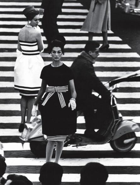 William Klein, 'Nina + Simone, Piazza di Spagna, Rome (Vogue)', 1960
