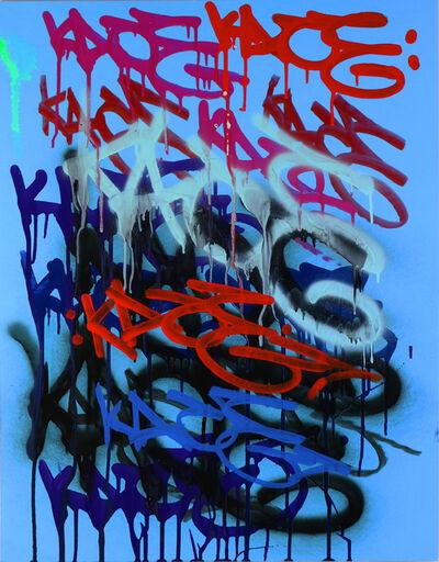 Kip Omolade, 'Luxury Graffiti Kelley I Tag Sheet ', 2020