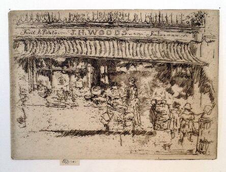 James Abbott McNeill Whistler, ' J.H. Woods' Fruit Shop, Chelsea', 1885