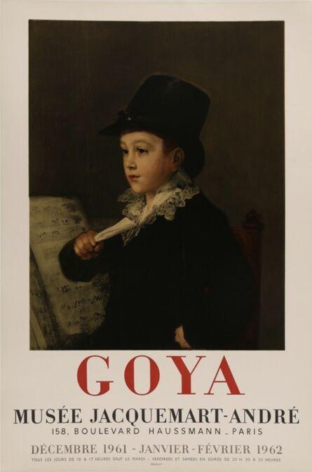 Francisco de Goya, 'Goya, Musee Jacquemart Andre Rare Poster', 1961