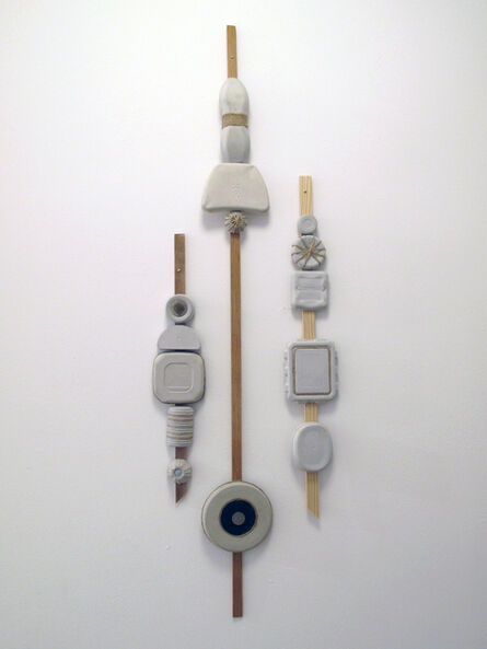 Elisabeth Jacobsen, 'Entrance Totems', 2017