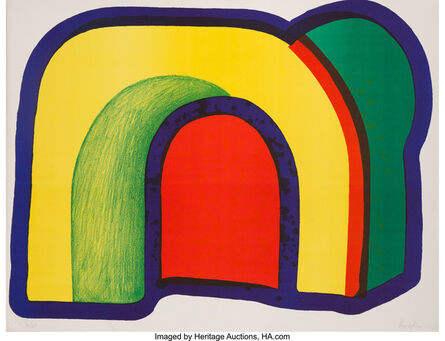 Howard Hodgkin, 'Arch (Composition with Red)', 1970