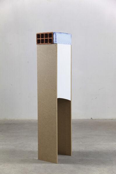 Clemens Behr, 'Brick on Plinth', 2014
