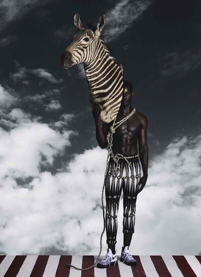 Kevin Mackintosh, 'Zebra Man', 2020