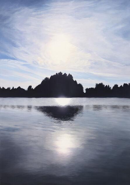 Brigitte STENZEL, 'Equinox Blue', 2014