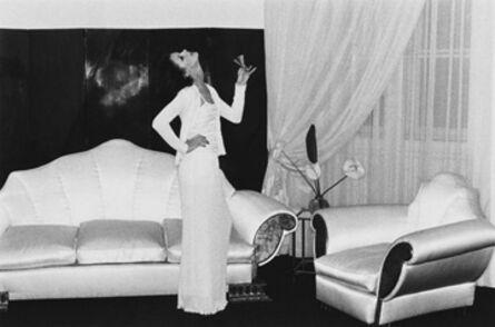 Helmut Newton, 'At Karl Lagerfeld's, Paris', 1974