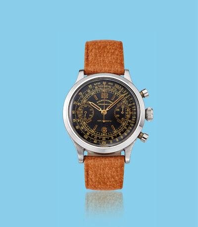 Rolex, 'Stainless steel chronograph wristwatch, ref. 3525', ca. 1940