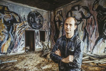 Andreas Sterzing, 'Luis Frangella at Pier 34.', 1983