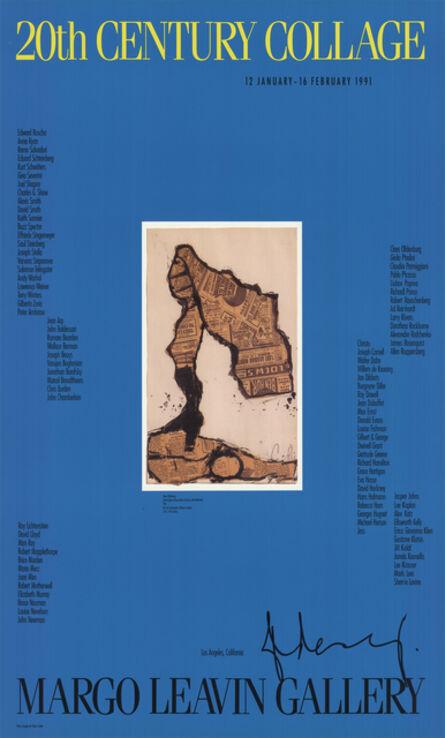 Claes Oldenburg, '20th Century Collage', 1991
