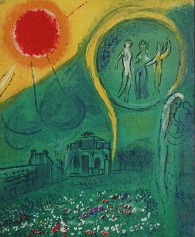 Marc Chagall, 'Le Carrousel du Louvre', 1954