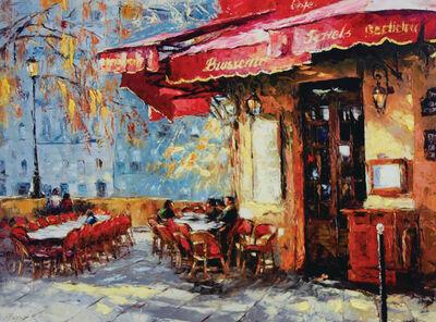 Elena Bond, 'Quiet Café by Elena Bond (Decorative Framed Fine Art)', N/A