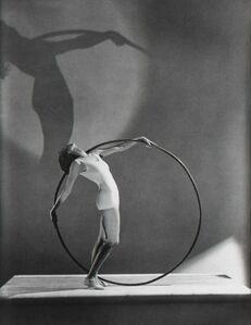 Hoyningen-Huene, 'Swimwear with Hoola Hoop, Miss E. Carise', 1930