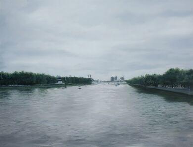 Francisco Rangel, 'Albert Bridge From a Distant'